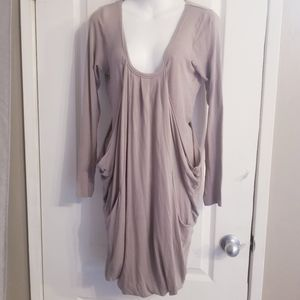 Aritzia Wilfred Tunic Long Sleeve Dress